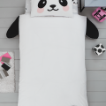 Children's single bedding set PANDA 137x200