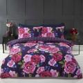 Double duvet set MIA FLOWERS REVERSIBLE 200x200