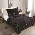 Microplush Comforter Set COSMOS 140x200