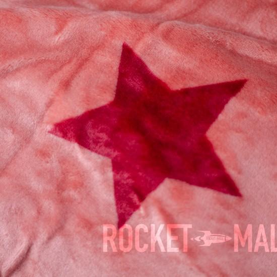 Microplush Comforter Set PINK STARS 140x200