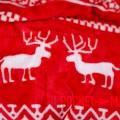 Microplush Comforter Set WINTER RED 140x200